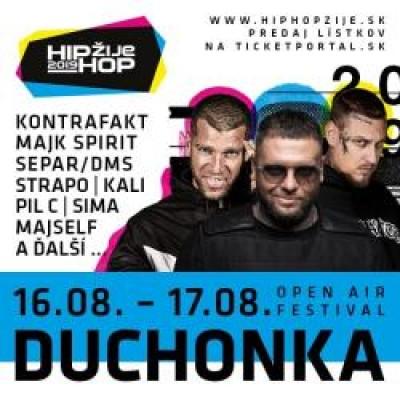 HIP HOP ŽIJE FESTIVAL DUCHONKA 2019