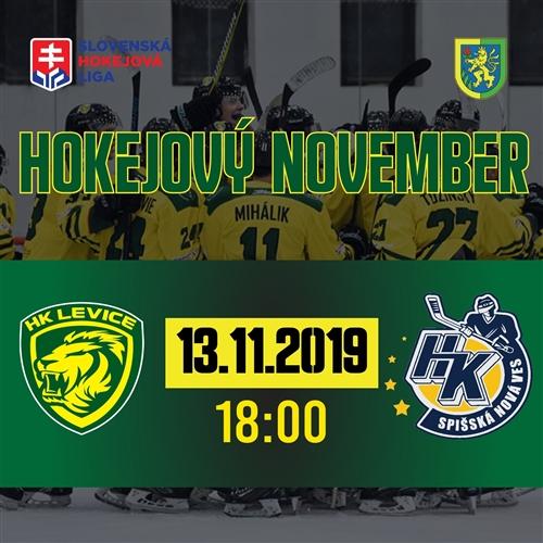 18. kolo SHL, HK Levice - HK Spišská Nová Ves