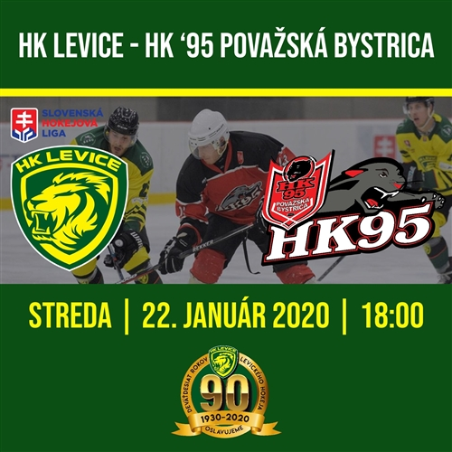 1. KOLO NADSTAVBY SHL, HK Levice - HK '95 Považská Bystrica