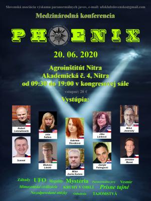 Medzinárodná konferencia PHOENIX 2020