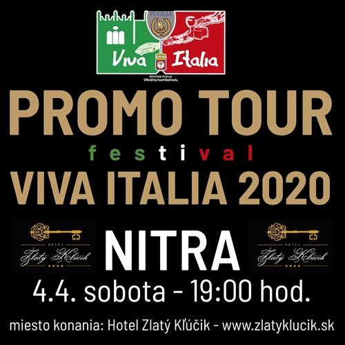 PROMO TOUR VIVA ITALIA 2020 - NITRA