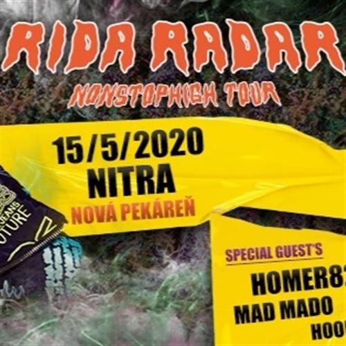 RIDA RADAR / 15.5. / NITRA / NOVÁ PEKÁREŇ